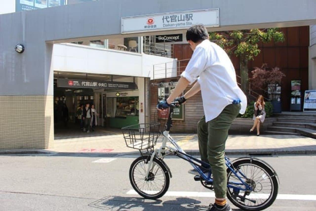 SUBARUオリジナルデザインAWD自転車