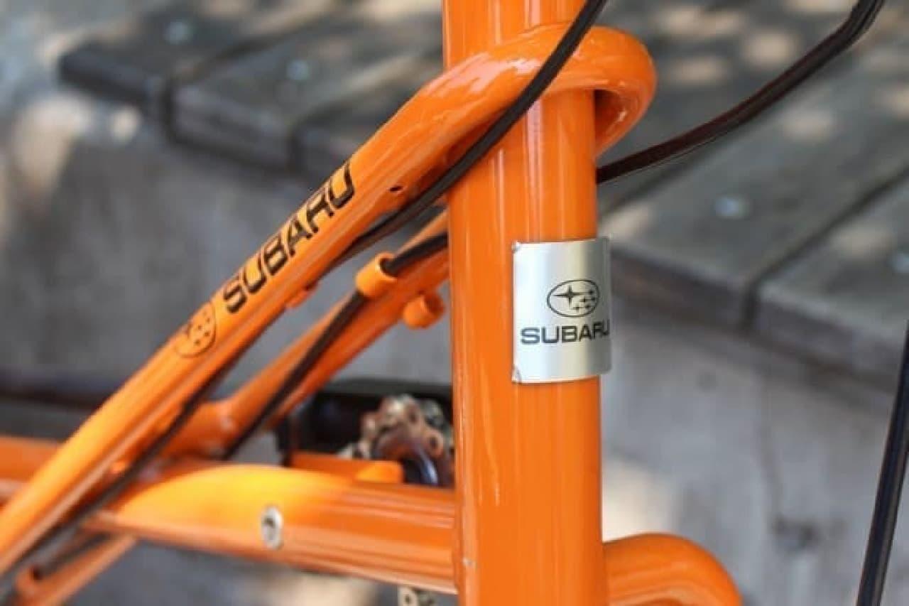 SUBARUオリジナルデザインAWD自転車 Standardモデル