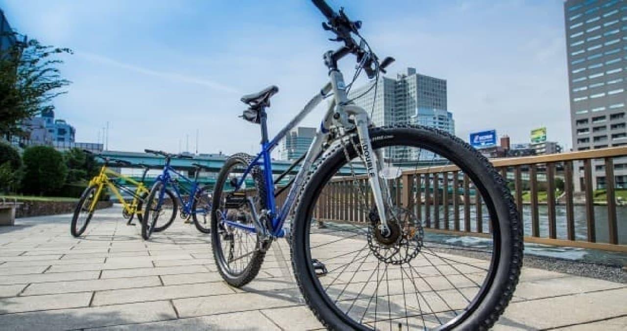 SUBARUが2016年11月に発売したMTB版のAWD自転車