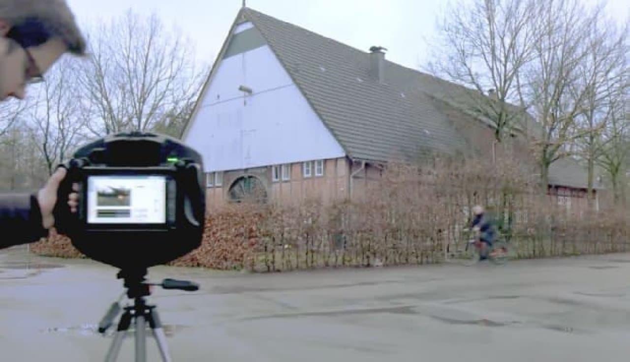 音を視覚化するカメラ「SOUNDCAM」