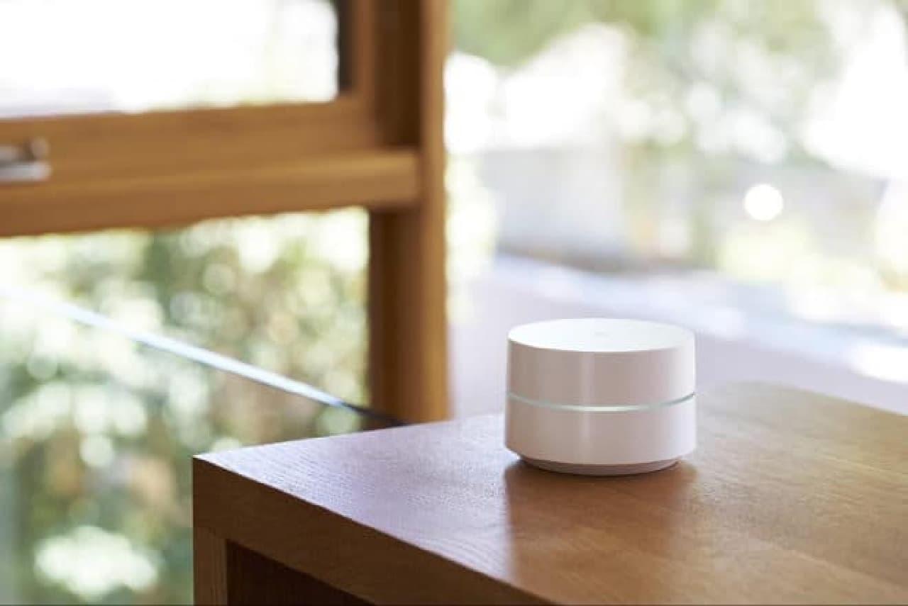 Wi-Fiルーター「Google Wifi」