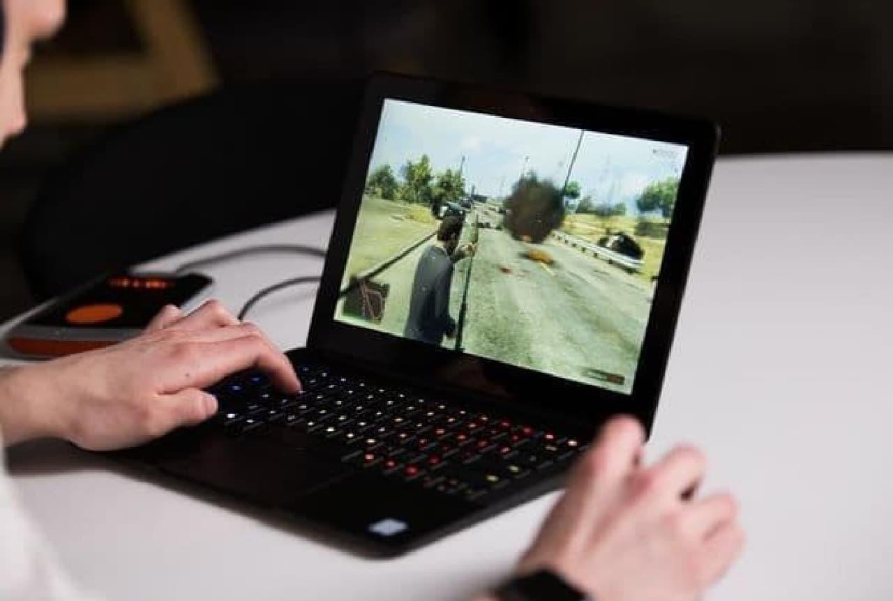 手持ちのノートPCを、ゲームPCに―ポータブルGPU「eX Core」