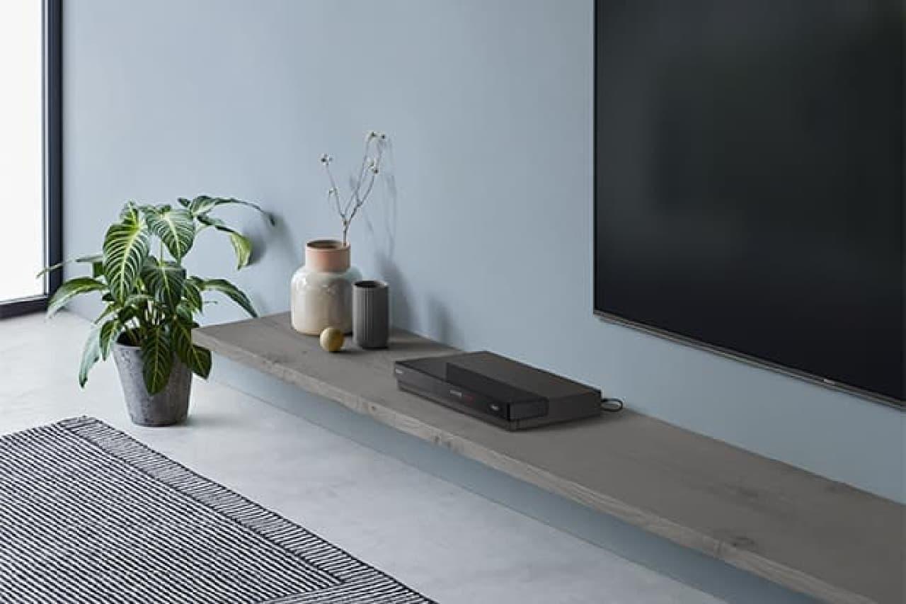 4K Ultra HD ブルーレイレコーダー「BDZ-FT3000」