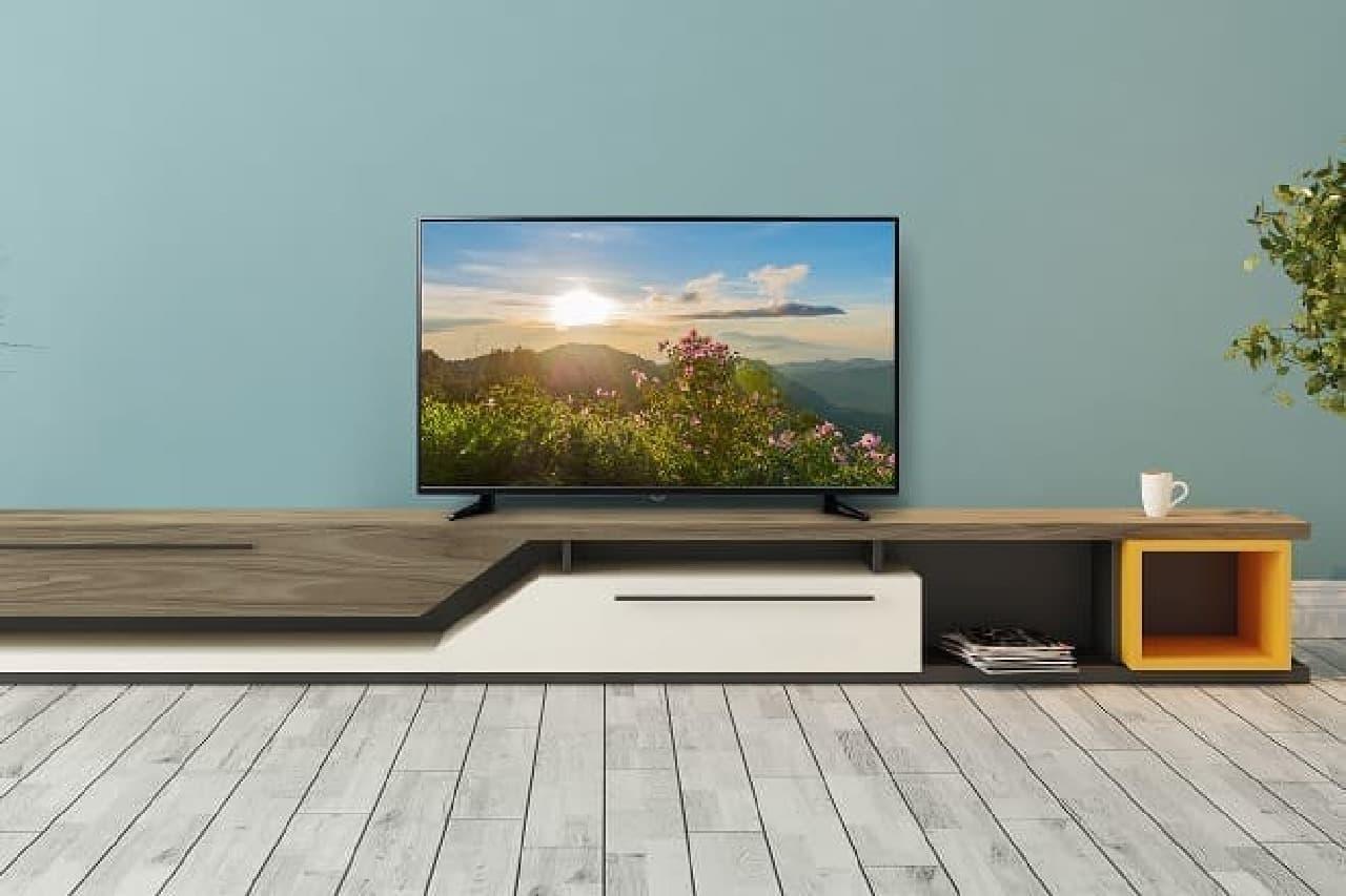 4Kテレビ「GH-TV49B-BK」