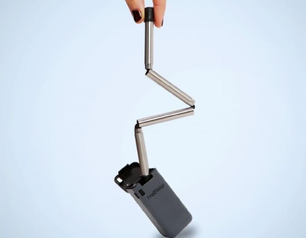 キーホルダーに付けられる折り畳みストロー「FinalStraw」