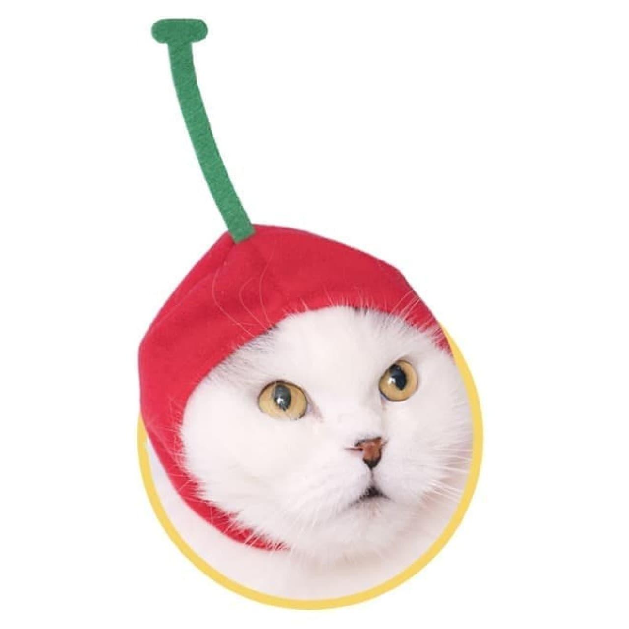カプセルトイ「ねこのかぶりものシリーズ」第20弾「ねこのフルーツちゃん2」