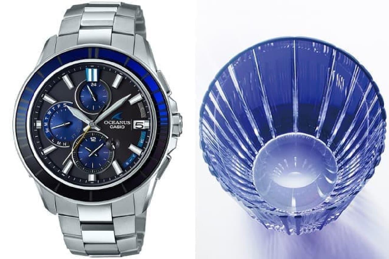 江戸切子を生かした腕時計「OCW-S4000C」