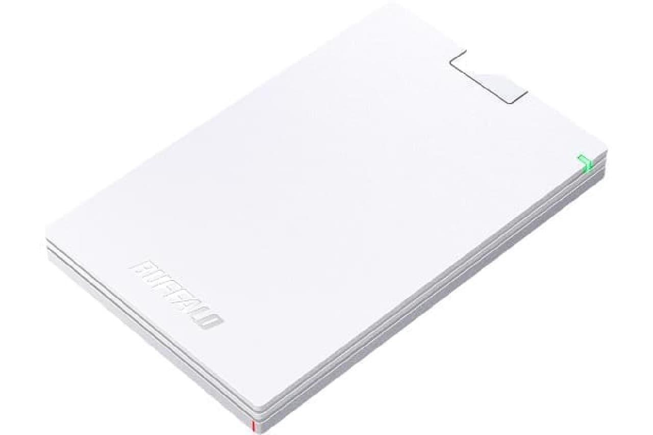 ポータブルHDD「HD-PCGU3-A」
