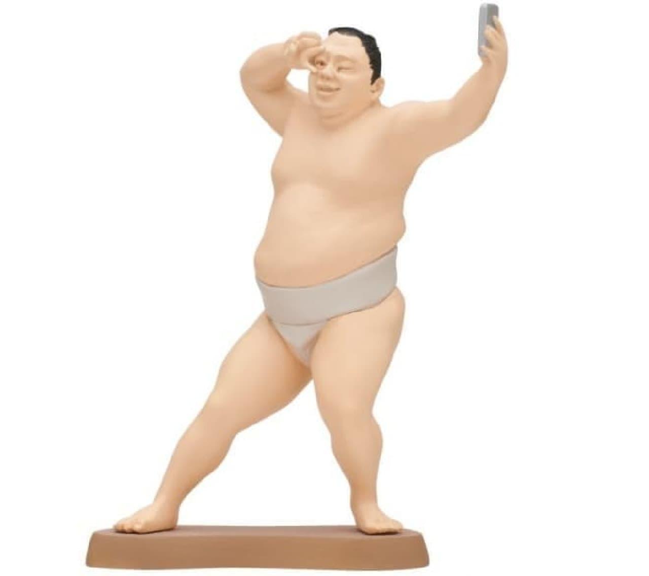 カプセルトイ「大相撲のフィギュア」