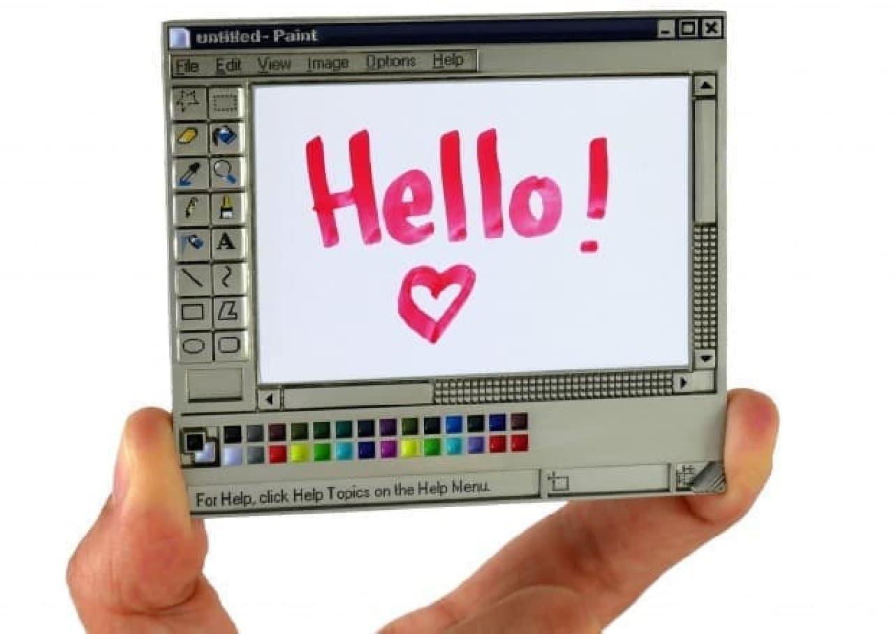 みんな大好き、あのMSペイントをピンにして「MS Paint Enamel Pin」
