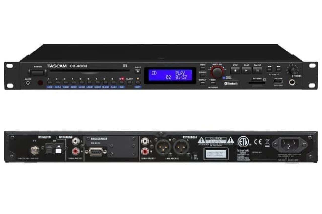 CDプレーヤー「CD-400U」