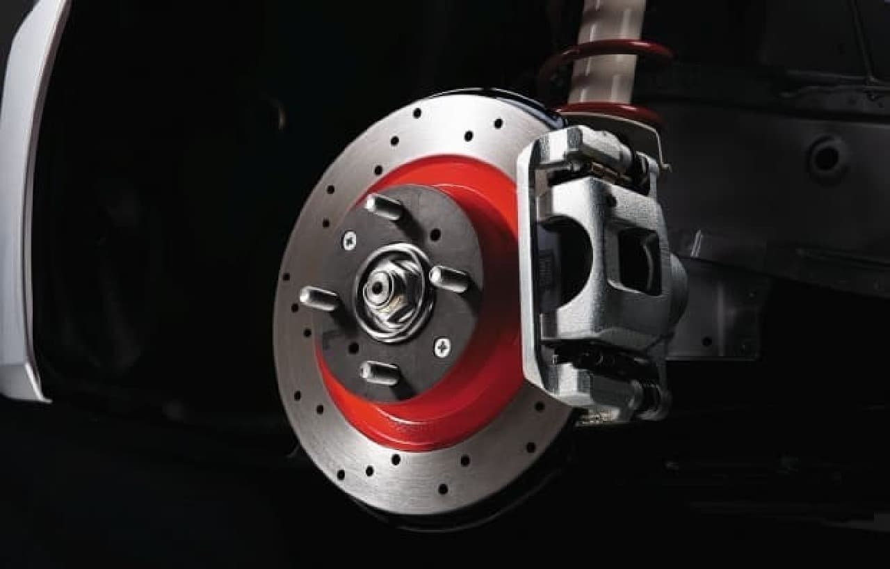 S660 Modulo X ディスクローター ドリルドタイプ &スポーツブレーキパッド