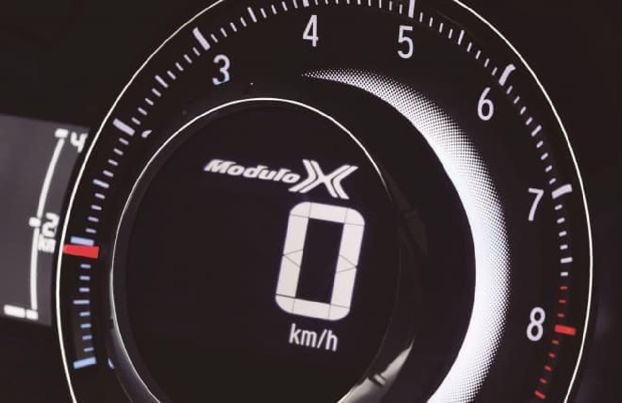 「S660 Modulo X」専用Modulo Xロゴ入りメーター