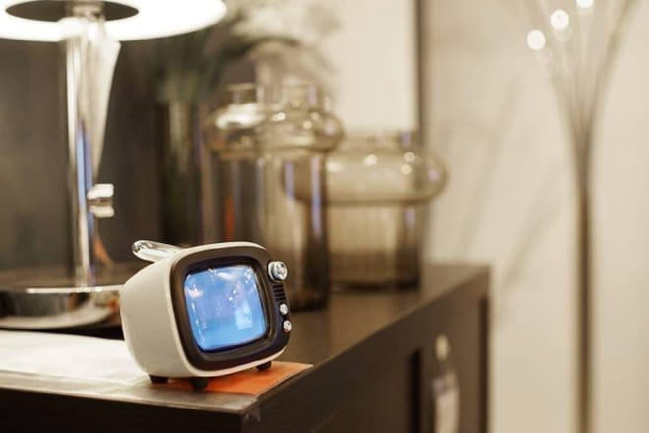 ブラウン管テレビちっくなスピーカー、Lofreeの「QTV」