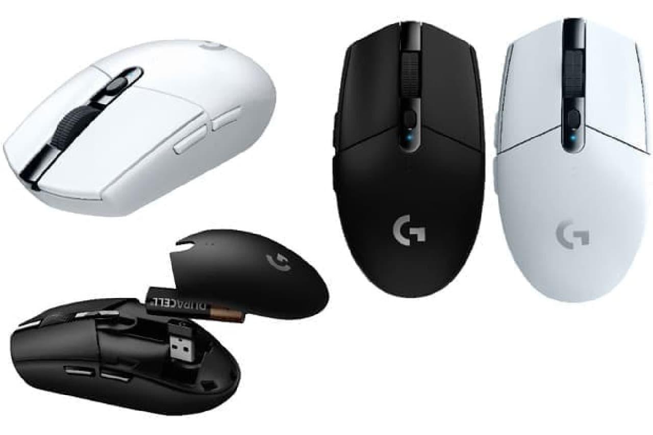 軽量ゲーミングマウス「G304」