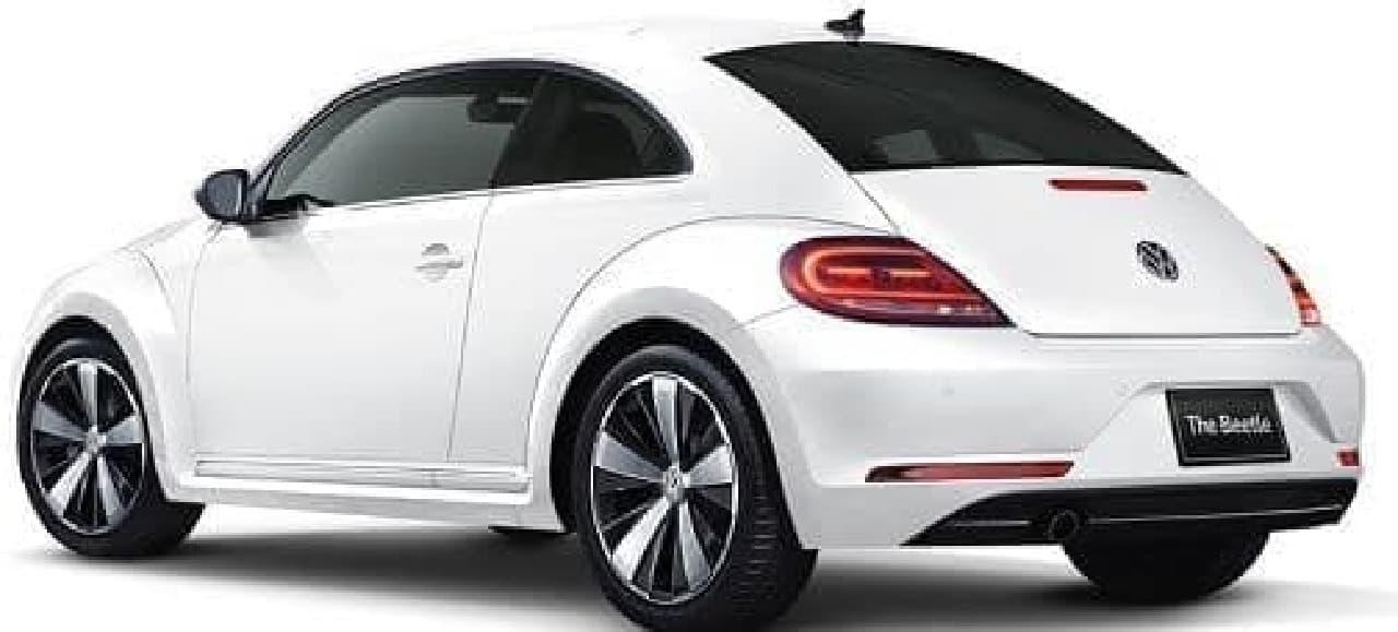 「ザ・ビートル」の限定車「The Beetle Exclusive(ザ ビートル エクスクルーシブ)」