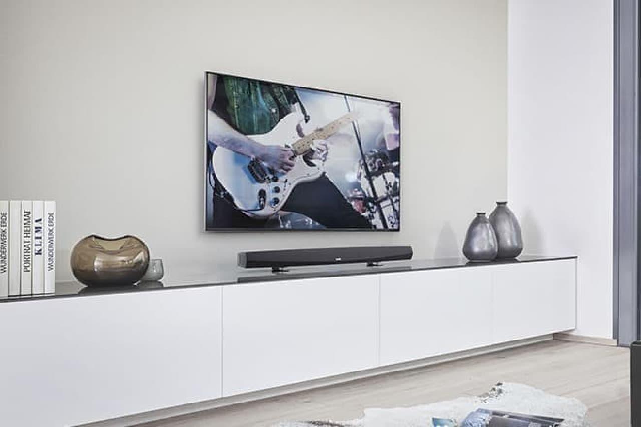 薄型テレビの貧弱な音響を補う「HEOS HomeCinema」