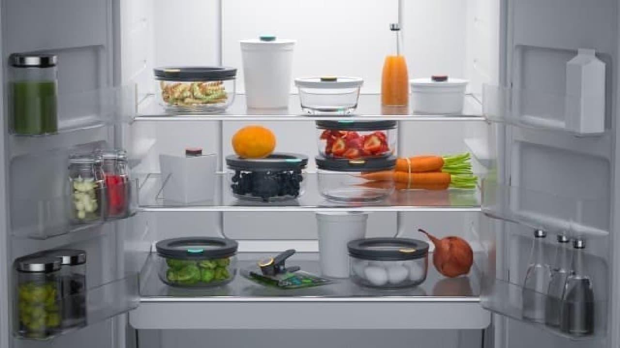 「あと何日食べられる?」を知らせてくれる「Smartware」