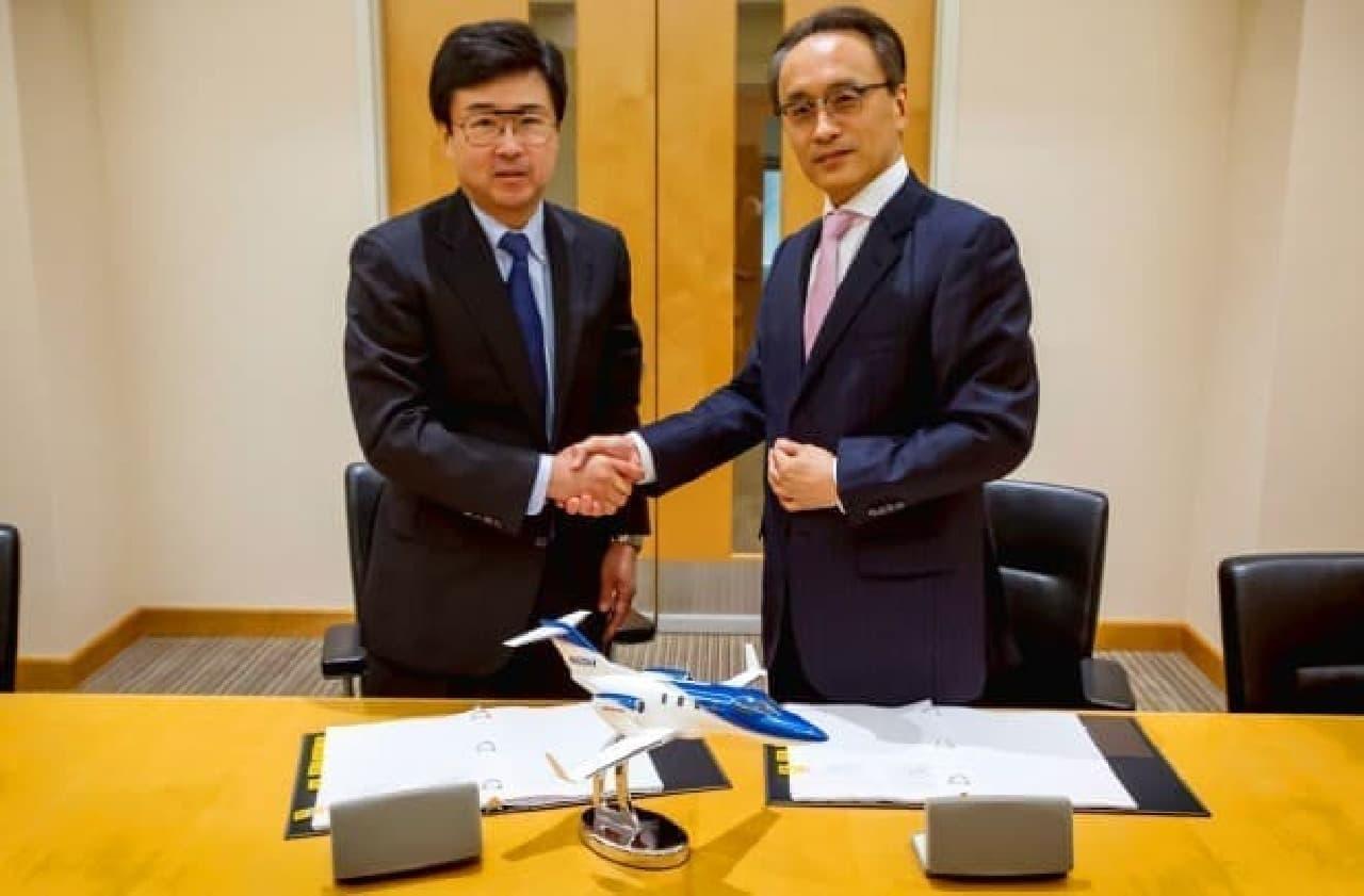 ホンダの小型ビジネスジェット機「HondaJet」、日本で販売開始