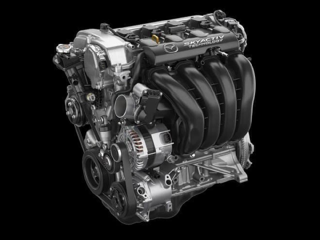 改良を受けたガソリンエンジン「SKYACTIV-G 2.0」