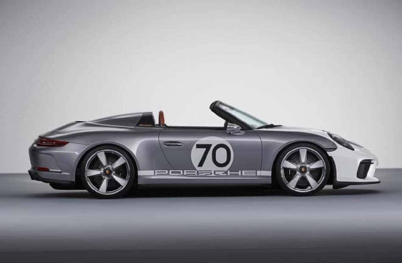 ポルシェ「911スピードスターコンセプト」