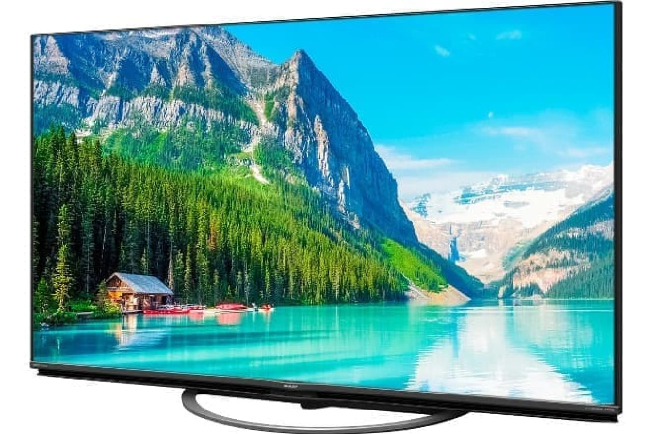 「AQUOS 4K」ブランドから、AI技術を応用した4Kテレビ