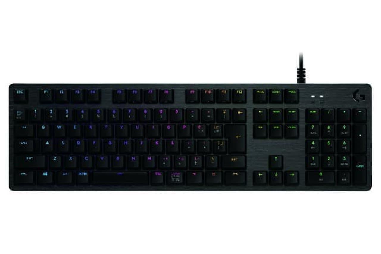 ゲーミングキーボード『G512」