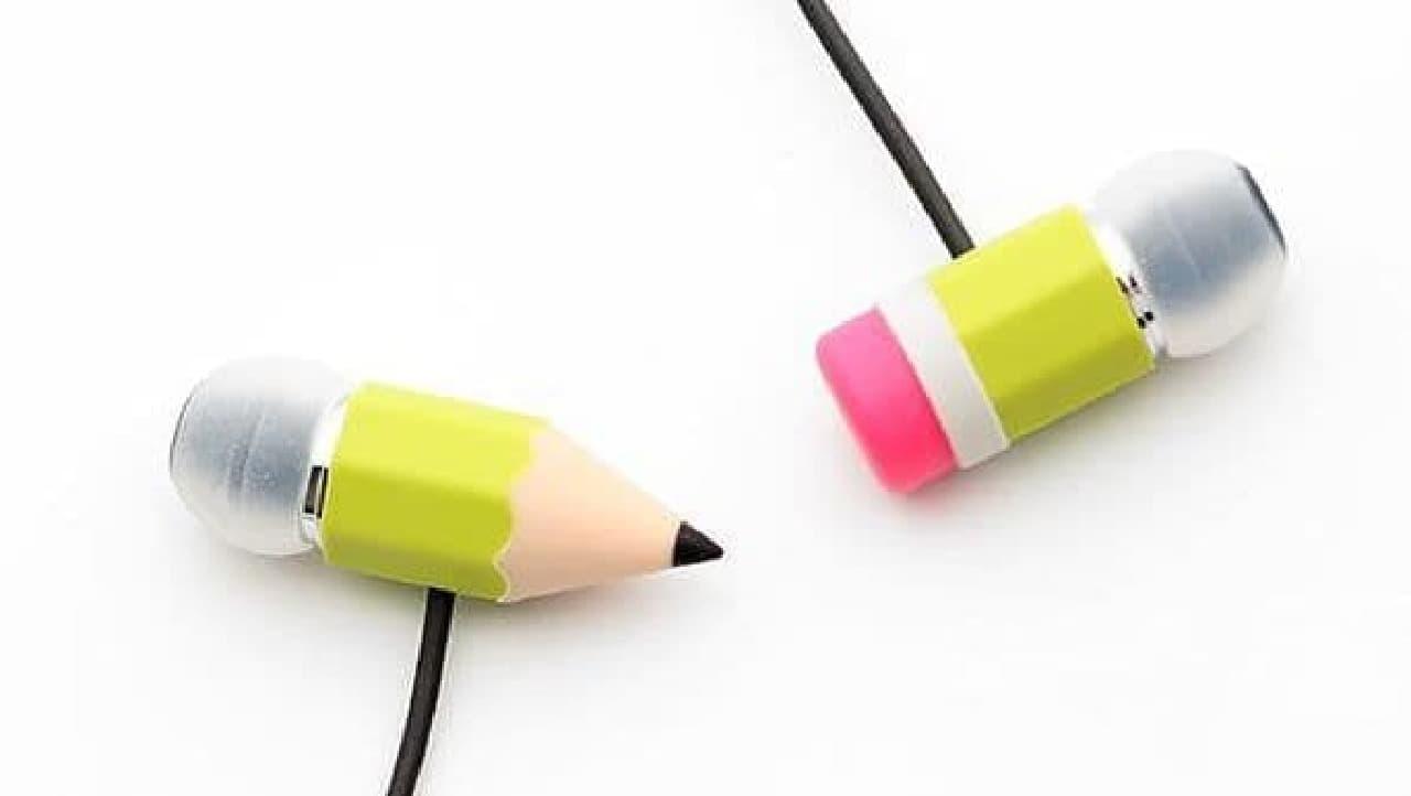 えんぴつ型イヤホン「Magic Pencil Earphones」