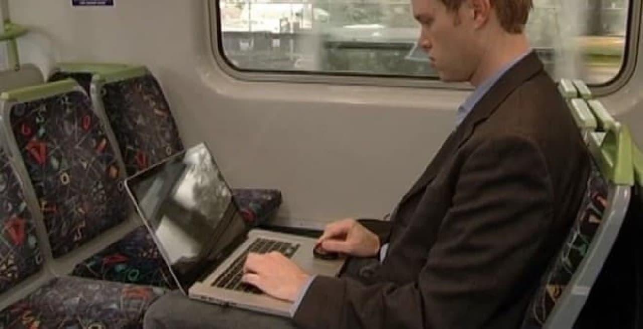 電車や飛行機で使いやすい「ProPoint」
