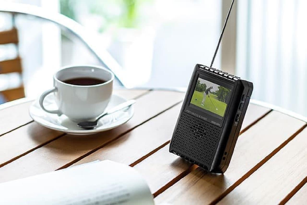 ポータブルワンセグテレビ「400-1SG005」
