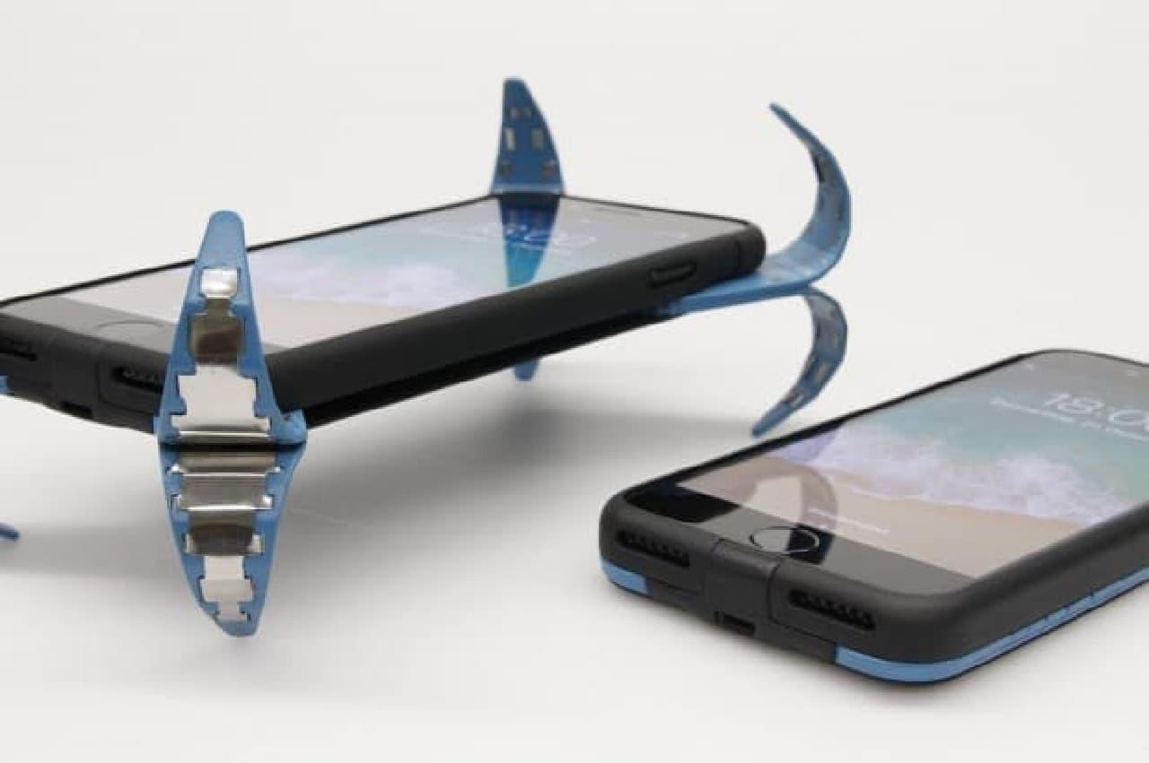落下を自動検出するスマートフォンケース「ADcase」