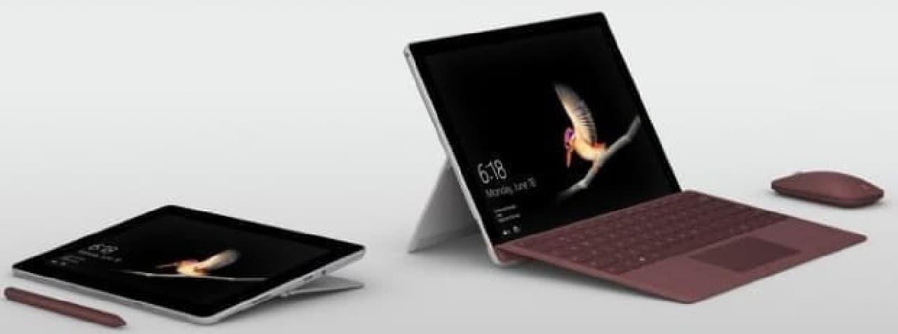 Microsoftが10インチサイズの「Surface Go」を発表しま