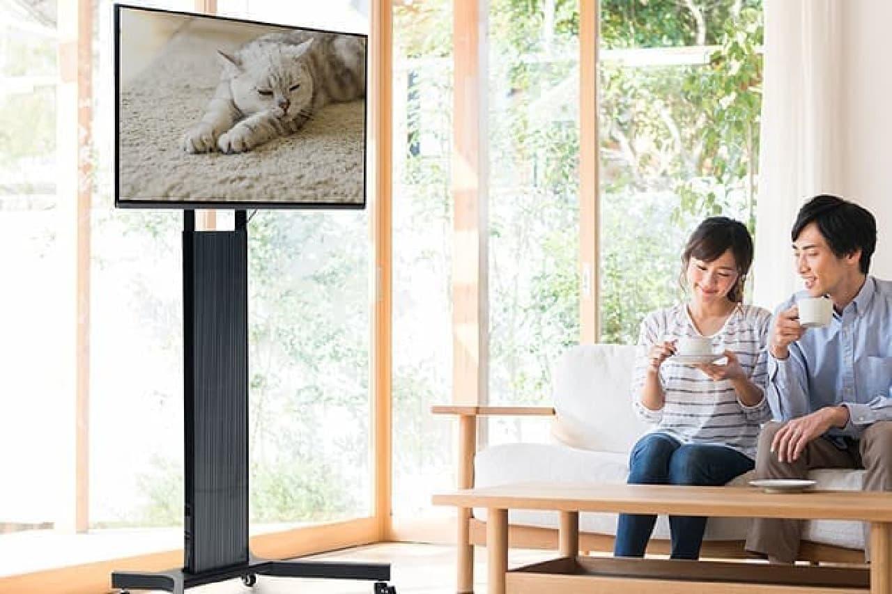 テレビスタンド「100-PL013」