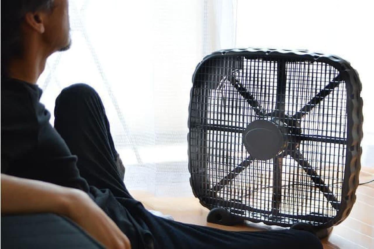 男のための扇風機