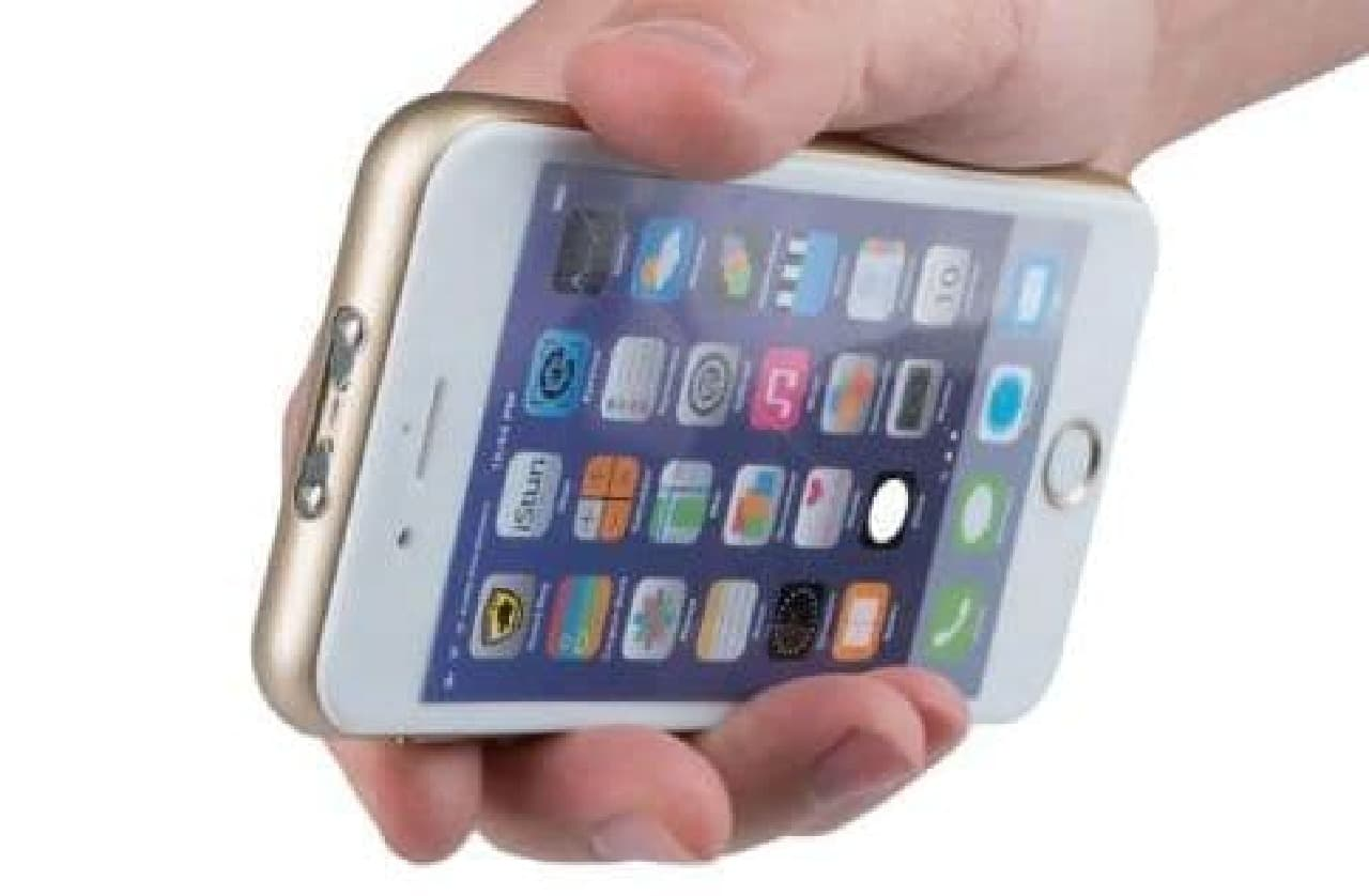 iPhoneそっくりのスタンガンiStun 2