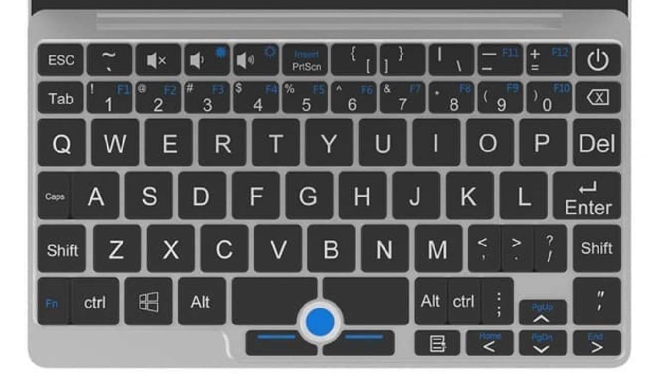 GPD Pocket 2、Indiegogoに登場