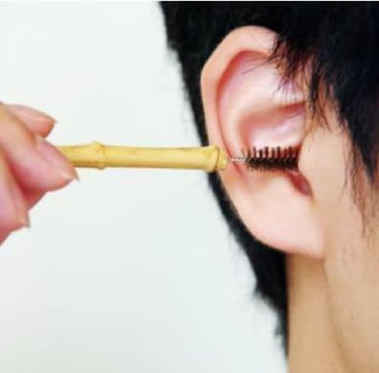 あの「睡眠用たわし」に次ぐ新商品、「耳かき用たわし」先行販売開始