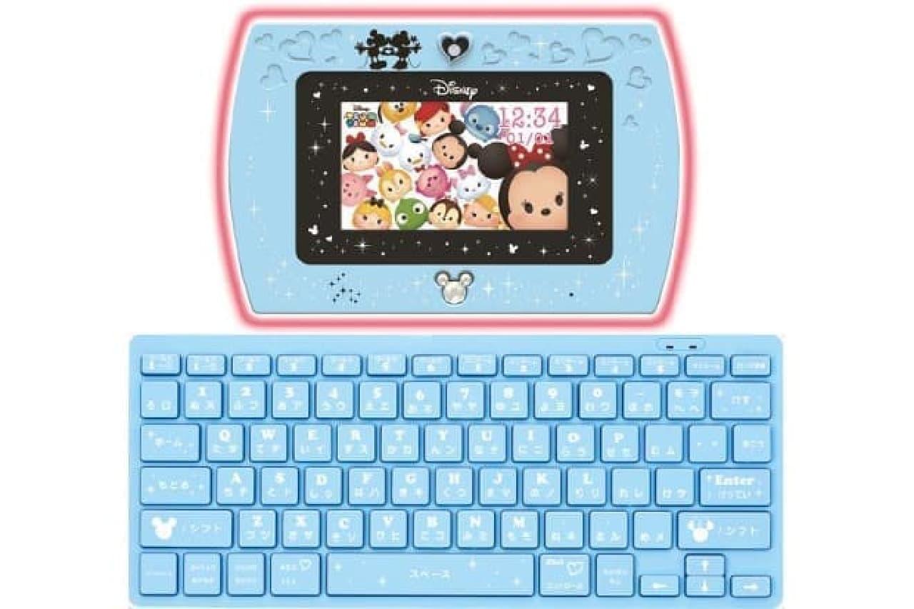 「マジカル・ミー・パッド」とキーボードのセット