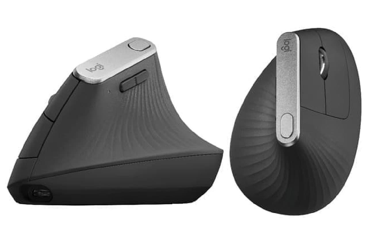 縦型マウス「MX Vertical」