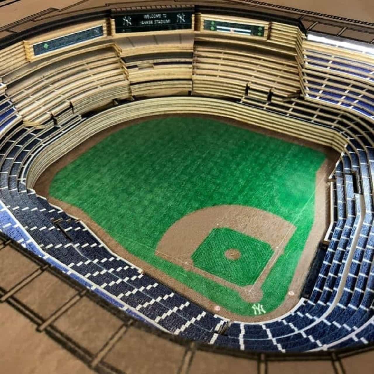 Football Stadium Lights End Table: MLB球場を模したサイドテーブル「Stadium Replica End Table」 [インターネットコム]