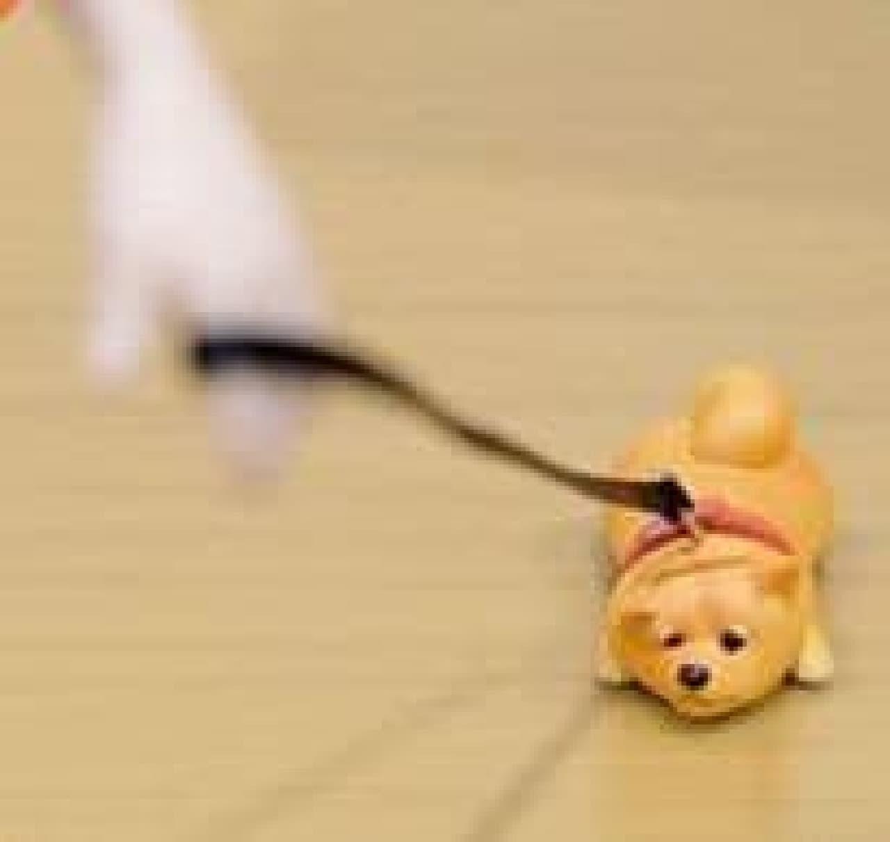 カプセルトイ「拒否犬 ストラップ NEW」