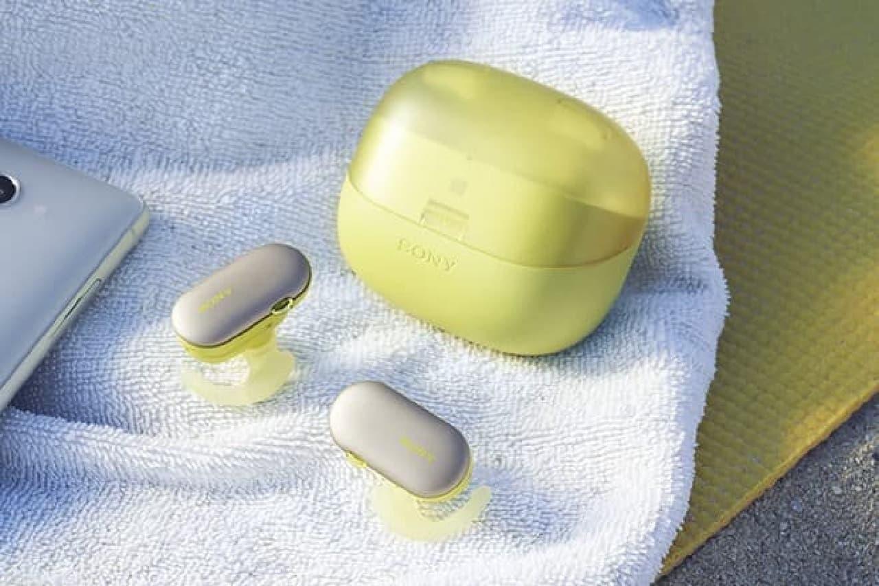 ソニーの防水Bluetoothイヤホン「WF-SP900」