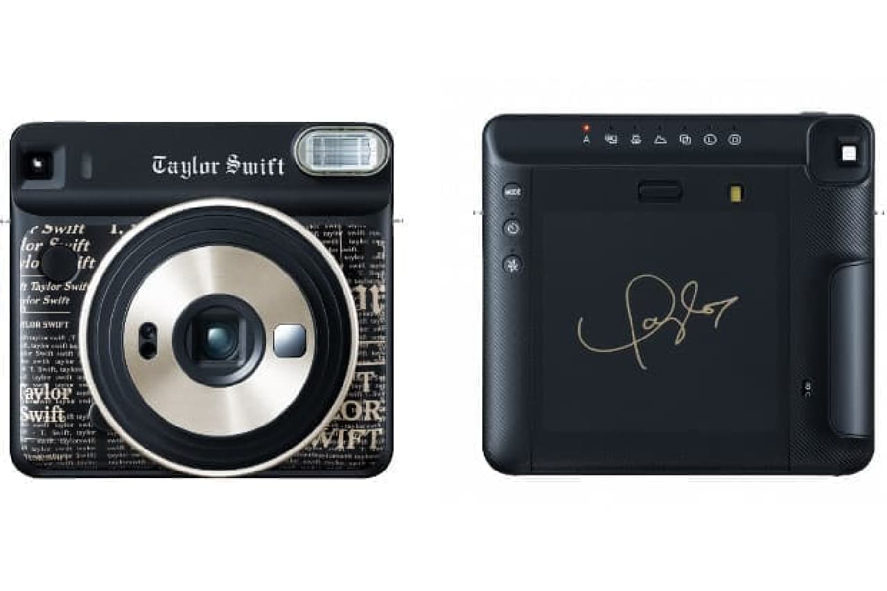 インスタントカメラ「instax SQUARE SQ6 Taylor Swift Edition」