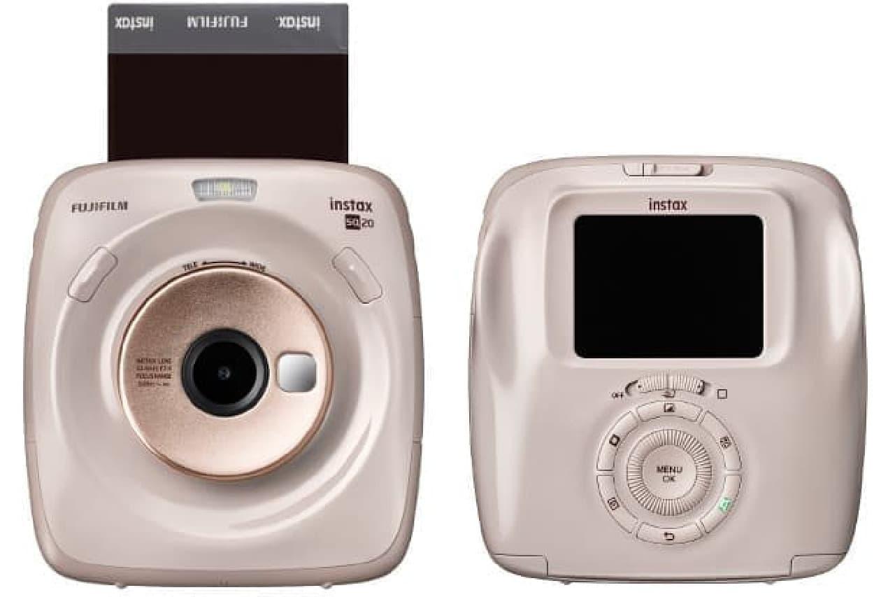 インスタントカメラ「チェキ」新版「instax SQUARE SQ20」