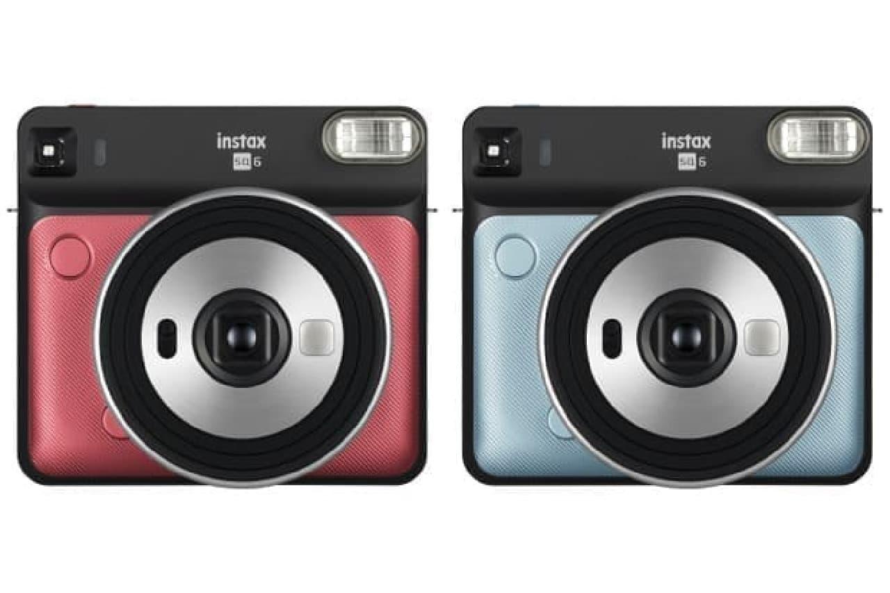 インスタントカメラ「instax SQUARE SQ6」
