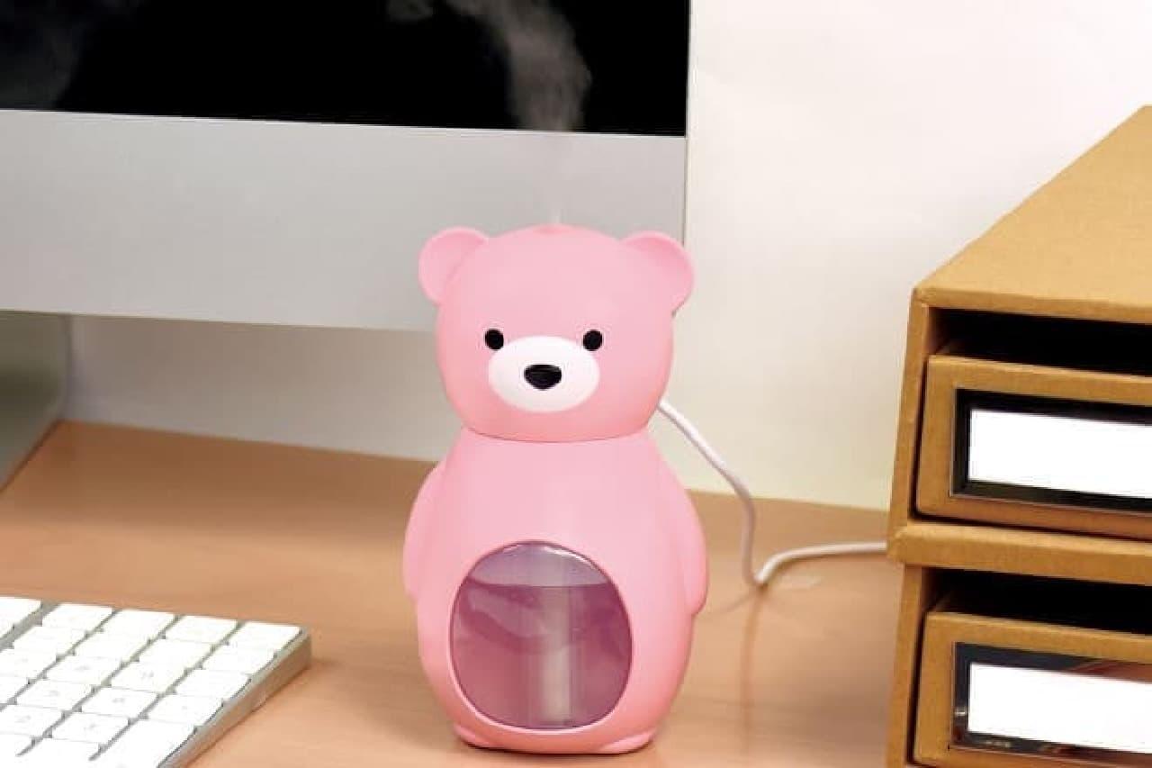 クマのかたちのUSB加湿器「Bear Drop」