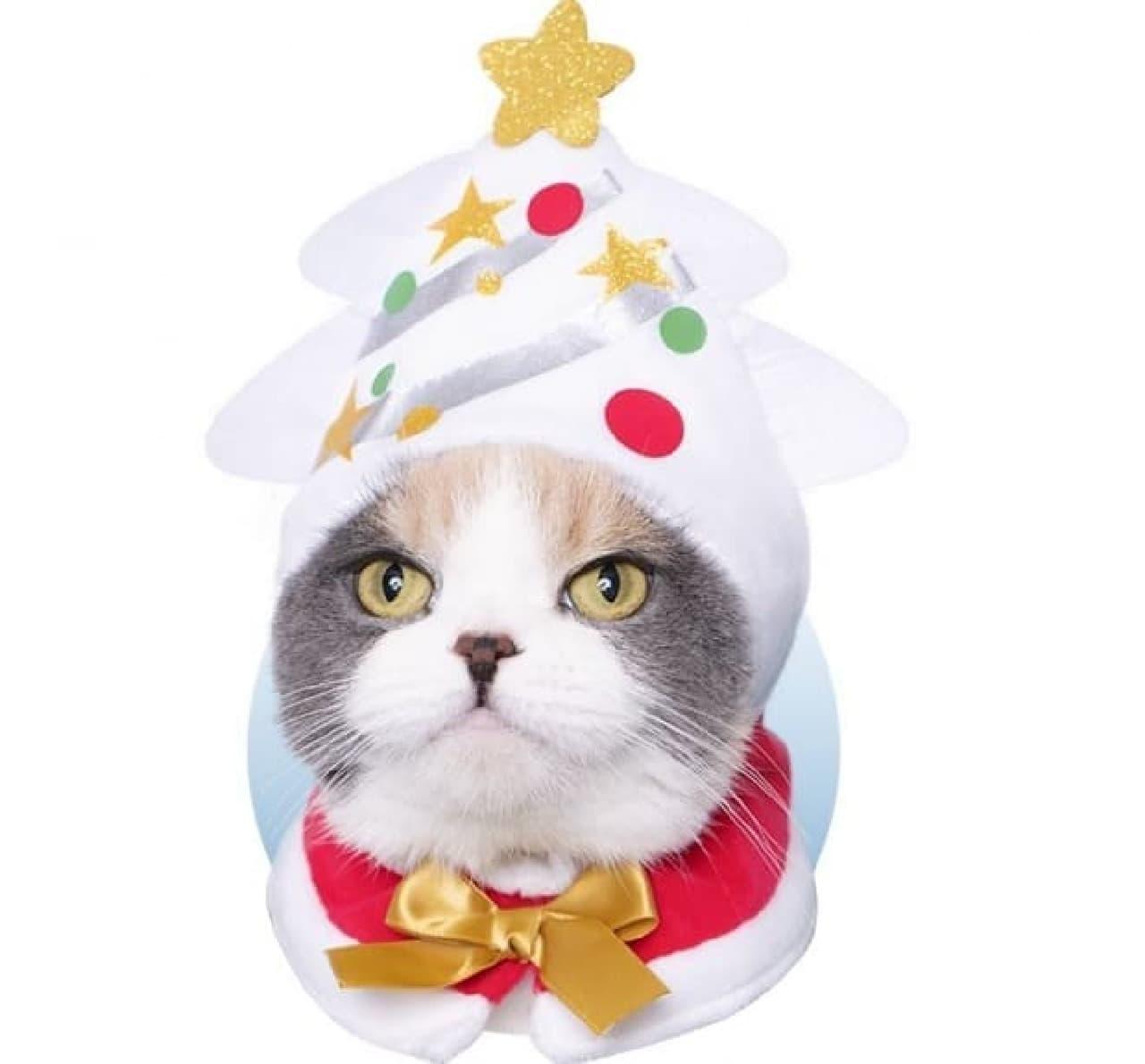 カプセルトイ「かわいい かわいい ねこクリスマス ちゃん」 「ひとりでも、メリークリスマス なのニャ」
