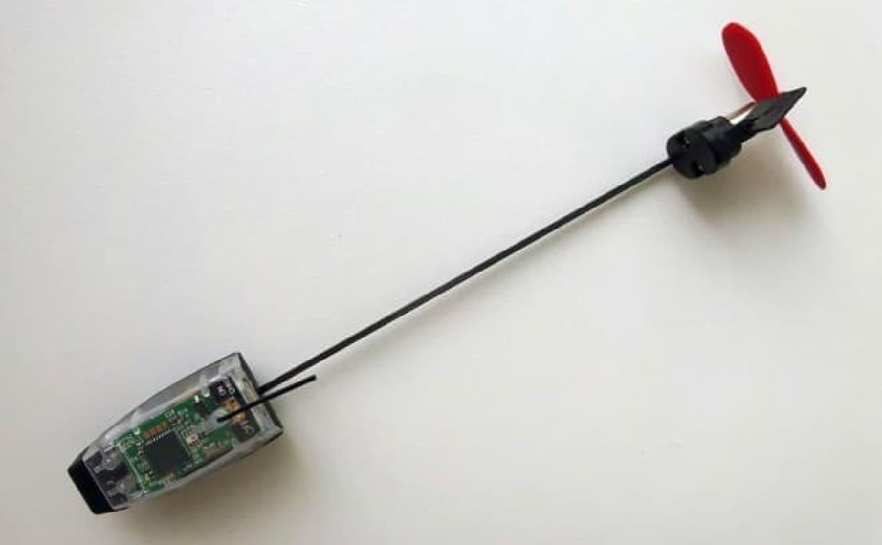 スマートフォンで操縦できる「POWERUP DART」