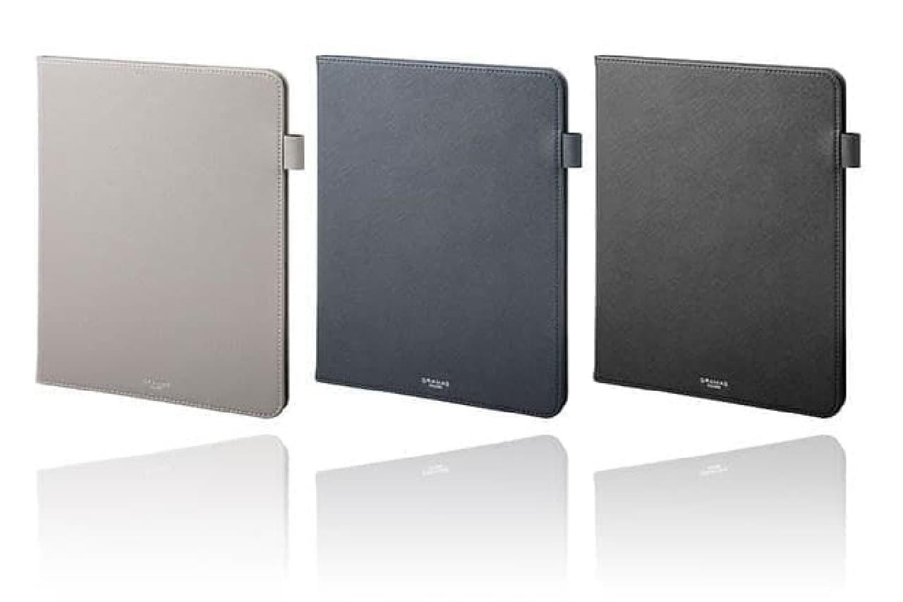 新型iPad Proを守る合成皮革ケース