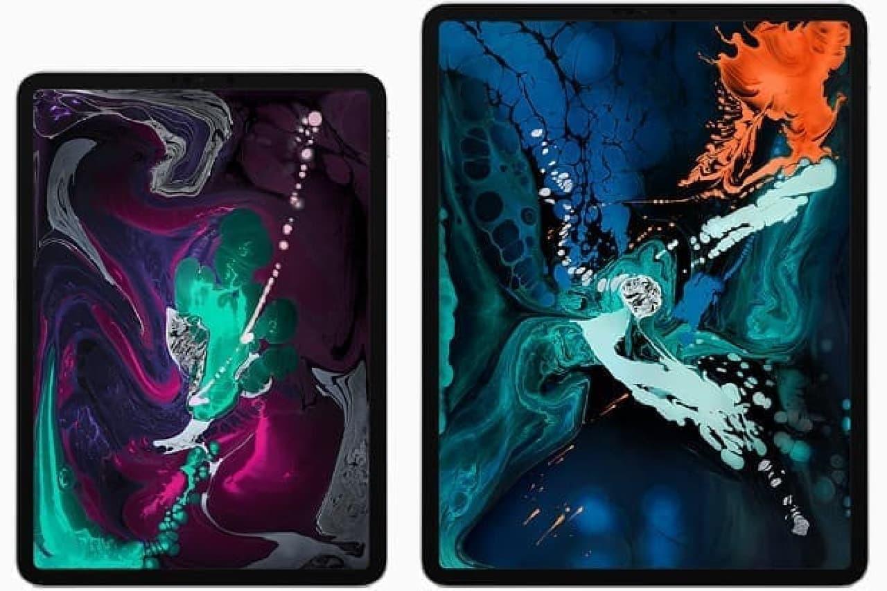 11型と12.9型iPad Pro
